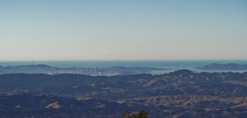 San Francisco Bay from Mount Diablo