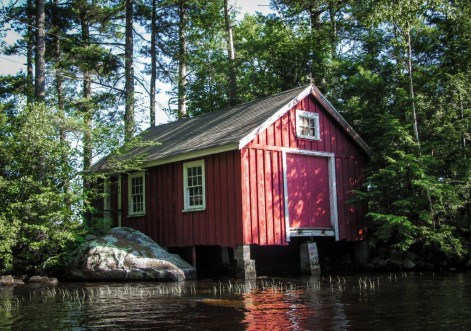 Red Boatshed