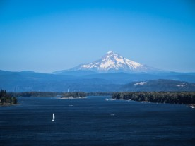 Mt. Hood & the Columbia