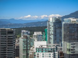 Downtown Vancouver & Stanley Park, from Harbour Centre