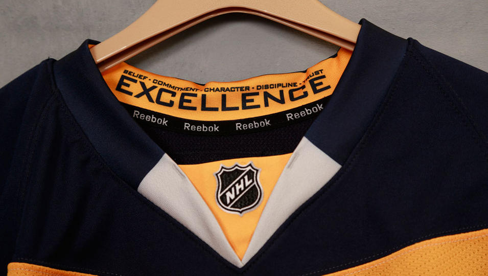 new product 79e31 f49bc The Buffalo Sabres' New Third Jersey – And so he spoke…