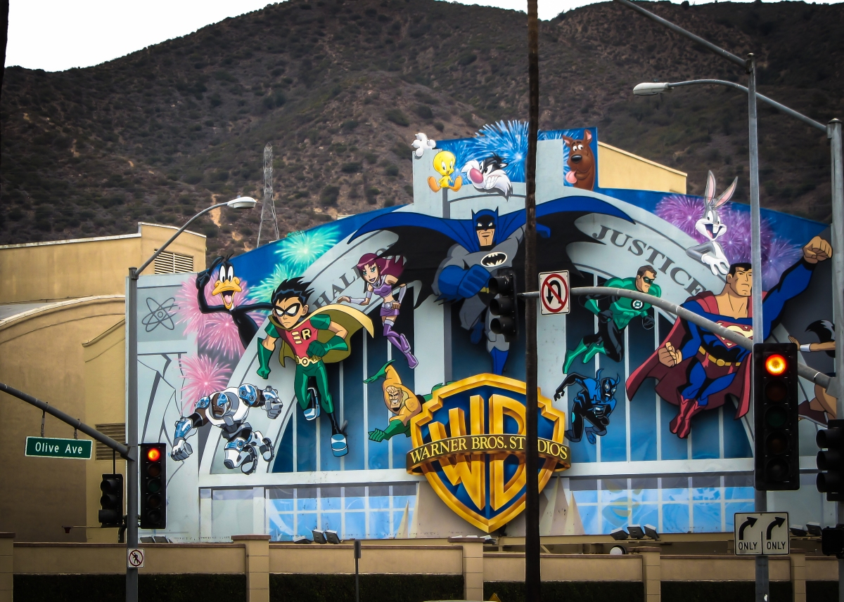 Warner Brothers Studio Lot