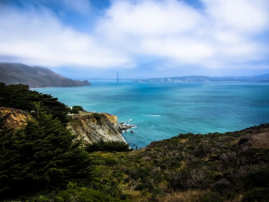 Bonita Cove & Golden Gate