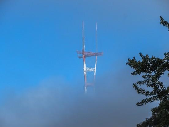 Sutro Tower in Fog