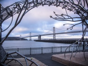 Bay Bridge at Pier 14