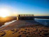 Last Sunset at Ocean Beach