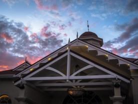Casino & Sunset