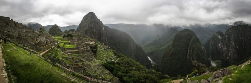 Machu Picchu, East Side Panorama