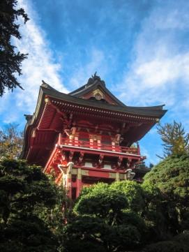 Japanese Tea Garden Pagoda