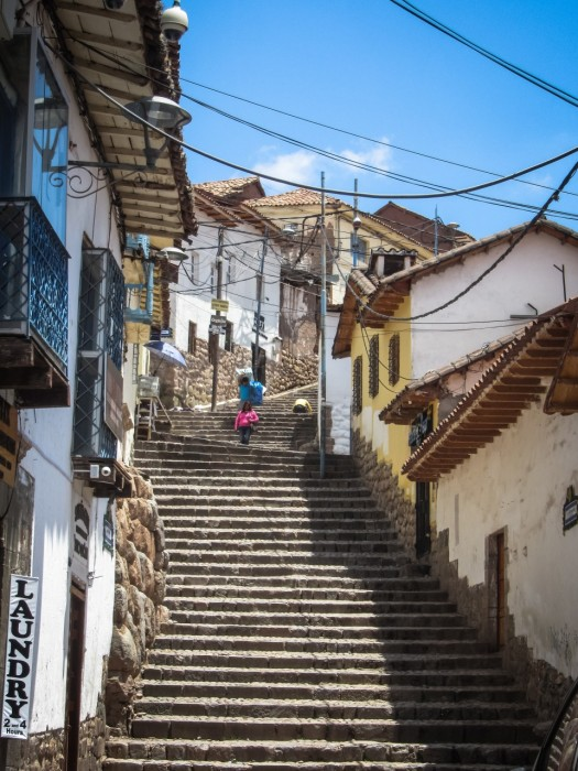 Stairs of Cusco