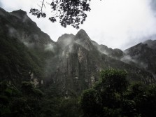 Machu Picchu, From Beneath