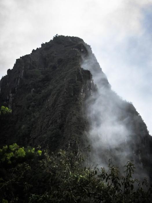 Huayna Picchu and Cloud