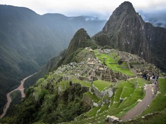 Machu Picchu, Classic View