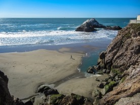 Seal Rocks at Ocean Beach