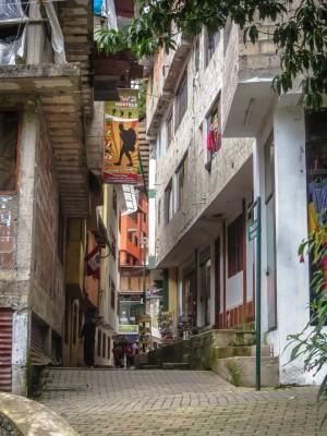 Alleys of Aguas Calientes