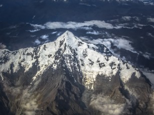 Nevado Verónica From The Air