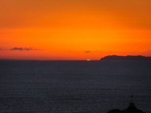 Green flash at Point Reyes