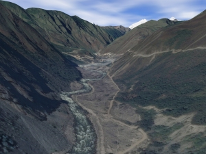 My best Google Earth re-creation.