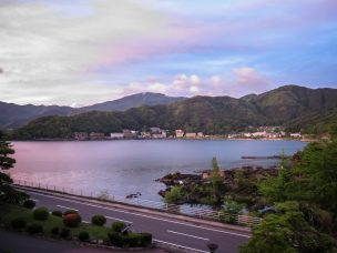 Dusk Lake Kawaguchi