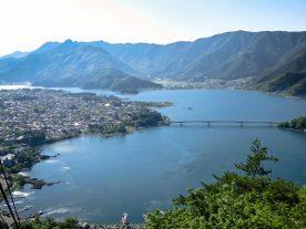 Lake Kawaguchi from Mt. Kachi Kachi