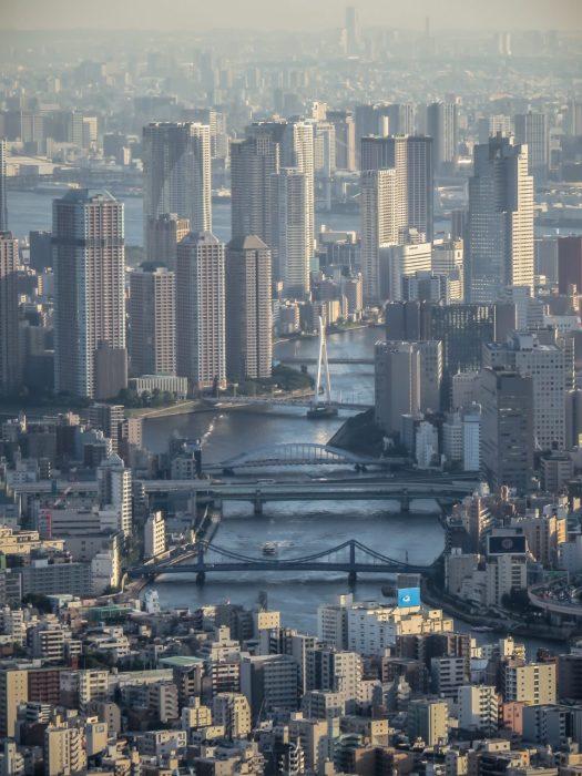 Bridges over the Sumida River