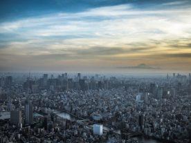 West -- Chiyoda, Shinjuku and Fuji
