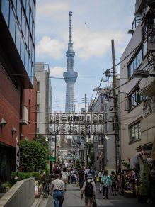 Tokyo Sky Tree from Asakusa