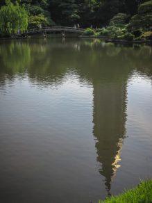 NTT Docomo Yoyogi Building, Reflected