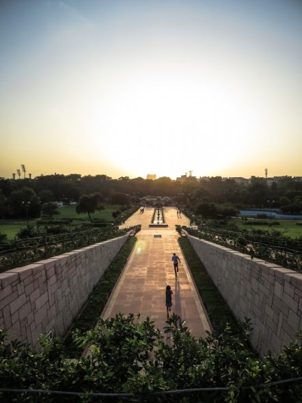 Raj Ghat Sunset