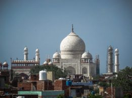 Across Agra