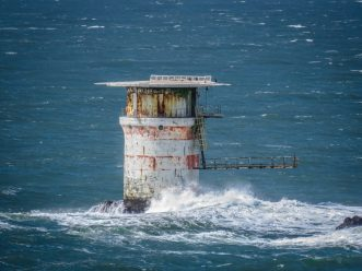 Mile Rock Lighthouse