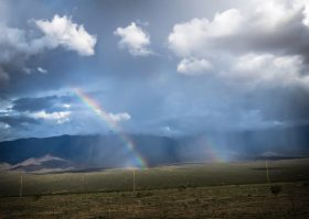 Isolated Rainbow