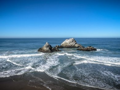Seal Rock, Low Tide