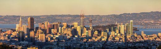 Downtown San Francisco from Mt. Davidson