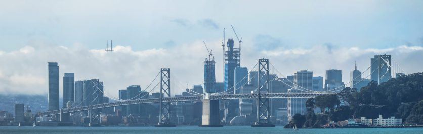 San Francisco From The Bridge, 2016 View